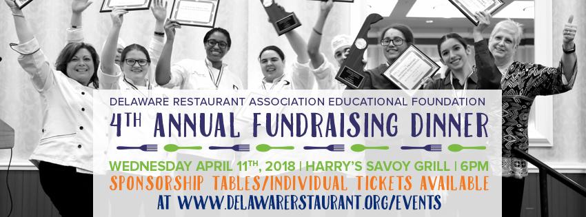 4th Annual DRAEF/ProStart Fundraising Dinner